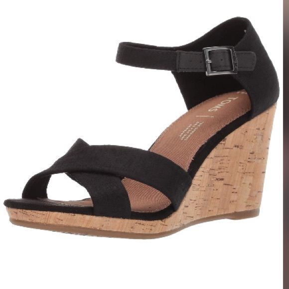 f3ba30b9c2 TOMS Women's Sienna Espadrille Wedge Sandal. M_5cba37268557af5ac941d3c2